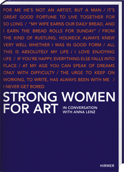 Cover for Strong Women for Art