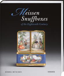 Cover for Meissen Snuffboxes
