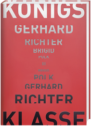 Cover für Gerhard Richter – Brigid Polk