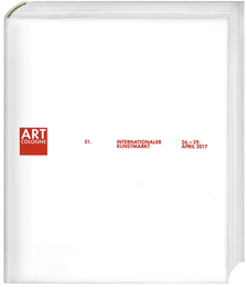 Cover für Art Cologne 2017