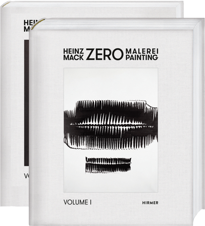 Cover for Heinz Mack. ZERO-Malerei