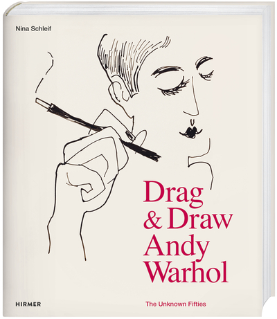 Cover für Andy Warhol. Drag & Draw