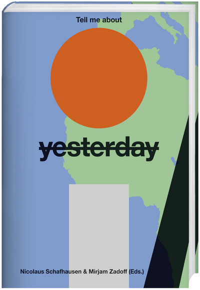 Cover for Tell me about <s>yesterday</s> tomorrow