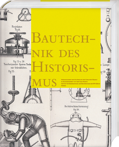 Cover for Bautechnik des Historismus