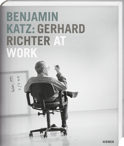 Cover für Benjamin Katz: Gerhard Richter at work